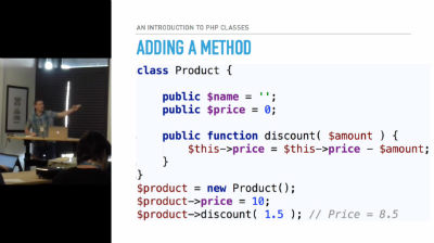 Micah Wood: An Introduction to PHP Classes
