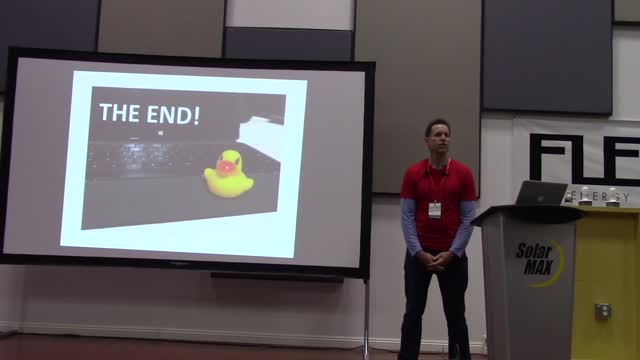 Gregg Franklin: Rubber Duck's and how they can help