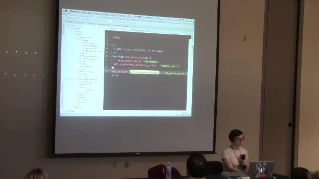 Alison Barrett: Admin Creation