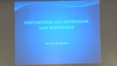 Devika Sisodia: Empowering Self Expression with WordPress