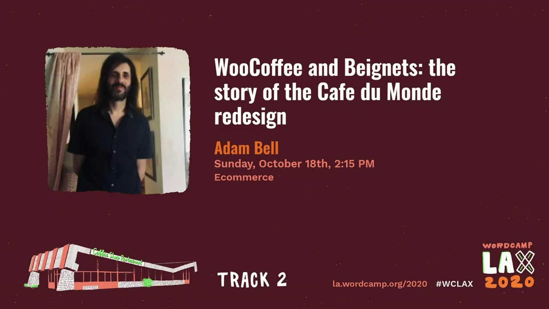 Adam Bell: WooCoffee and Beignets: the story of the Cafe du Monde redesign