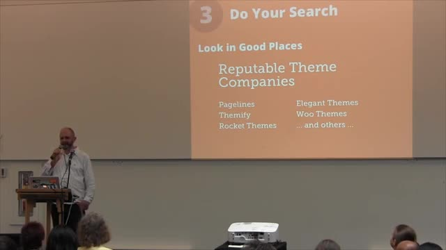 Chris Burbridge: Theme Selection Strategy: HowTo Pick The Right WordPress Theme For Your Project