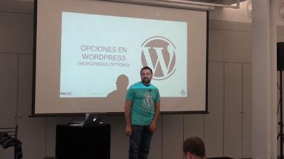 Txema Quintero: Opciones de WordPress