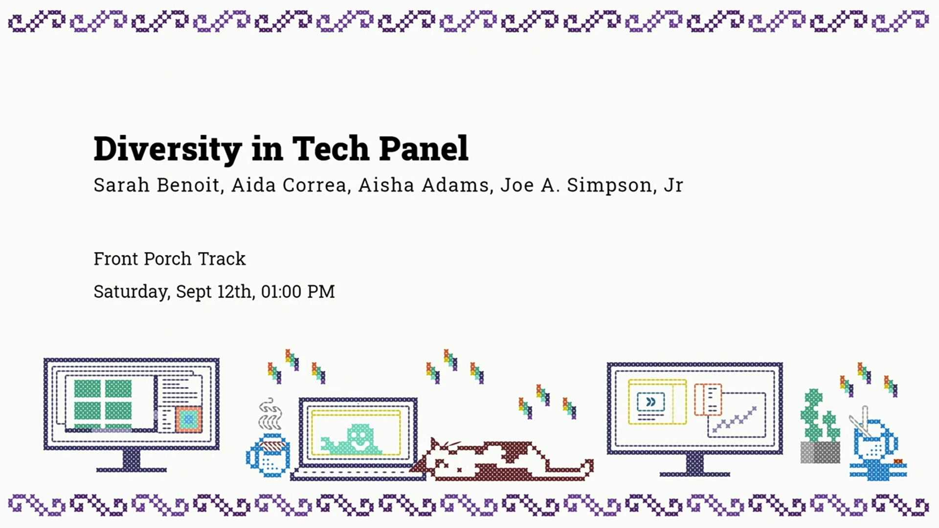 Diversity in Tech Panel Discussion