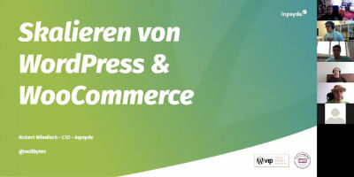 Robert Windisch: Skalierung von WordPress und WooCommerce