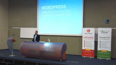 Filip Dřímalka: WordPress jako ideální nástroj pro chytré marketéry