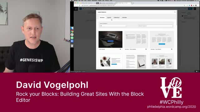 David Vogelpohl: Rock your Blocks - Building Great Sites With the Block Editor
