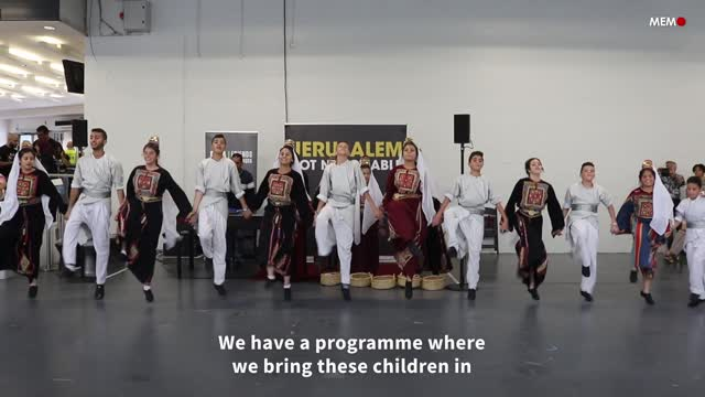 From Bethlehem to London: Palestinian children celebrate their identity through dance