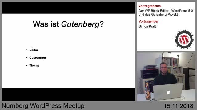 Simon Kraft: Der WP Block Editor - WordPress 5.0 und das Gutenberg Projekt
