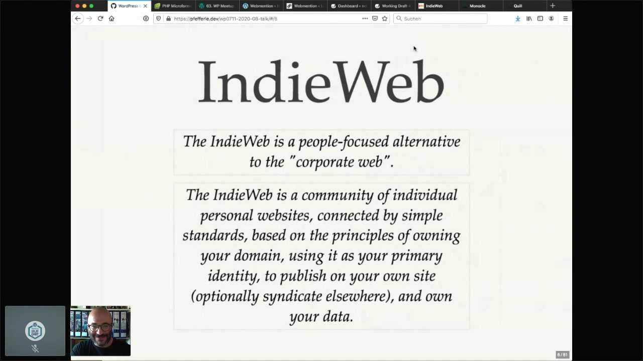 Matthias Pfefferle: IndieWeb