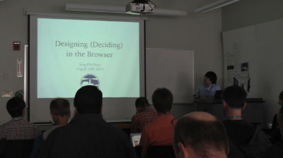 Sang-Min Yoon: Designing (Deciding) in the Browser