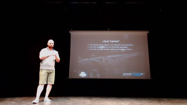 Jonatan Weber: No vendas Webs, vende Proyectos