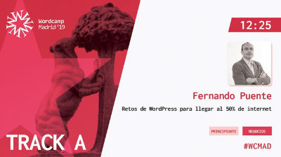 Fernando Puente: Retos de WordPress para llegar al 50% de internet