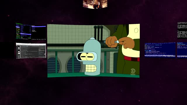 Safespaces: An Open Source VR Desktop   Arcan