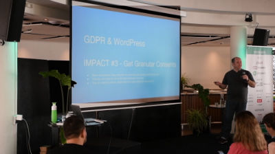 Jan-Willem Visser & Mark Wiseman: How do you make your WordPress website AVG GDPR compliant?