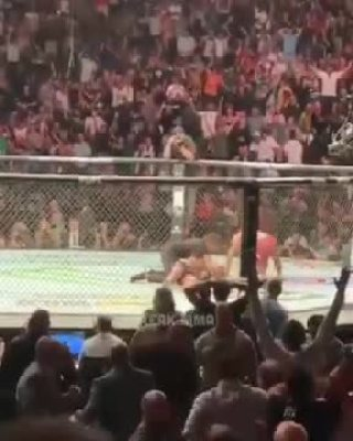 Sheesh: Jorge Masvidal Scores The Fastest Knockout In UFC History After A Flying Knee Takes Out His Opponent!