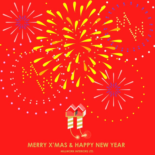 Merry X\'mas and Happy New Year | Millwork Interiors