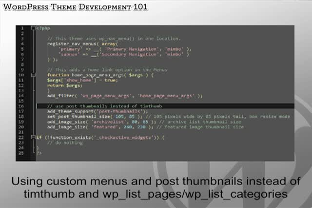Chris Reynolds: WordPress Theme Development 101