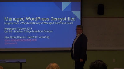 Alex Sirota: Managed WordPress Demystified