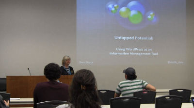 Daru Sharp: Untapped Potential: Using WordPress as an Information Management Tool
