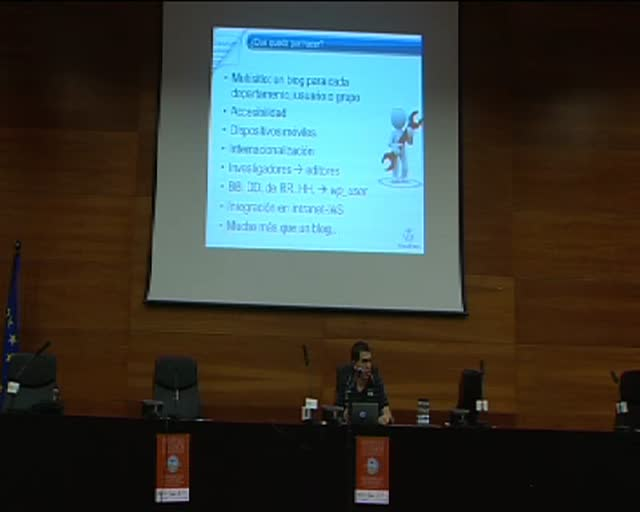 Fco. Javier Carazo: WP as a basic tool for scientific divulgation