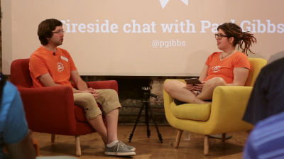 Paul Gibbs and Tammie Lister: Fireside Chat with Paul Gibbs (part 1 of 2)