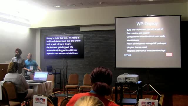 Inderpreet Singh and Andrew Bauer: WPaaS – A Centralized Approach to Managing WordPress At Boston University