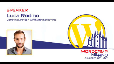 Luca Rodino: Come iniziare con l'affiliate marketing
