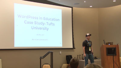 Rafi Yagudin: WordPress in Education Case Study -  Tufts University