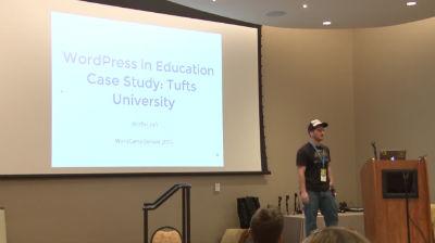 Rafi Yagudin: WordPress in Education Case Study -  Tufts University