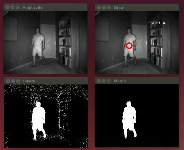 People Tracking using a Depth Camera – Larrylisky's Wiki
