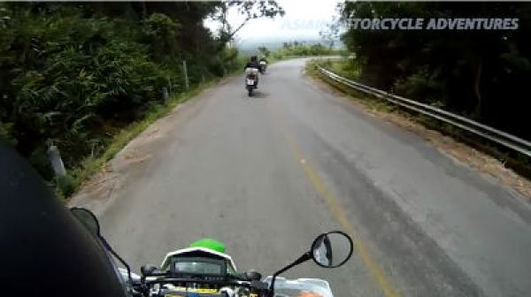 Day 5 Riding Segment - Wat Doi Tung - Back Roads - on a Golden Triangle motorcycle tour.