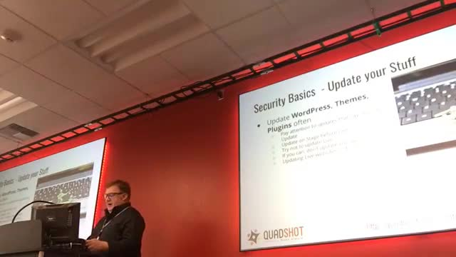 Michael Cremean: Everything you need to know about WordPress security, in under 30 minutes