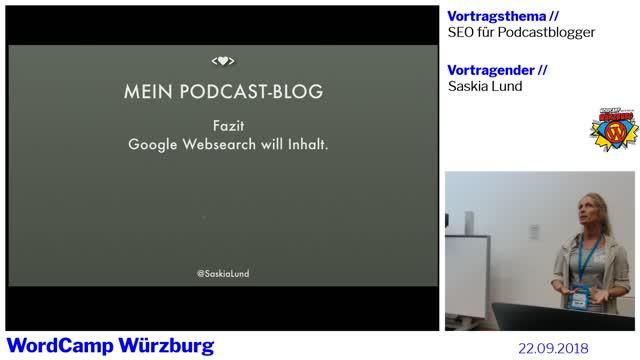 Saskia Lund: SEO für Podcastblogger