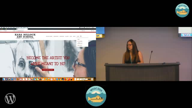 Kara Bullock : WordPress Provides the Best Canvas for a Creative Business