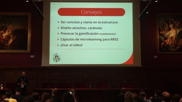 Julio de la Iglesia Trinidad: Creación de cursos online en WordPress. Plugins y mejores prácticas.