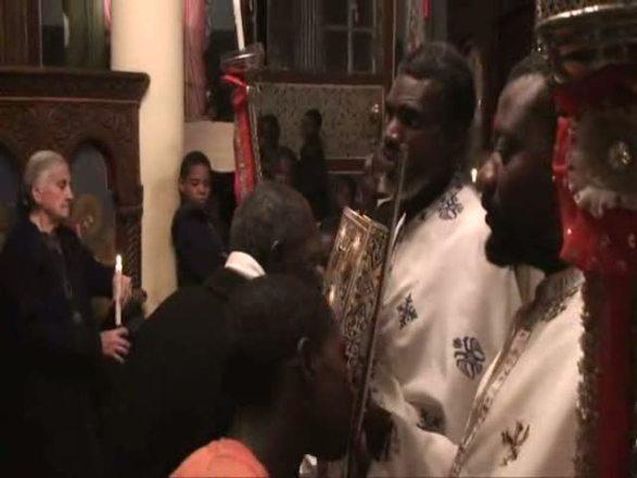 Imagini pentru saccsiv VIDEO: Slujba Invierii Domnului Congo. ORTODOXIE IN AFRICA!