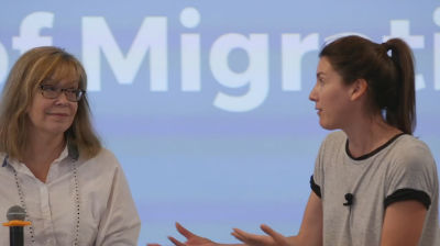 Amee Mola, Paul Barthmaier, Nici Catton: Panel - The Business of Migrations