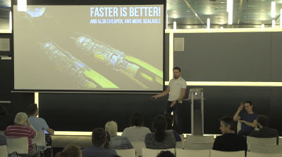 Hristo Pandjarov: Faster is better! (and also cheaper, and more scalable)