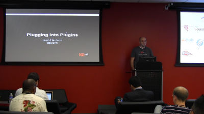 Josh Harrison: Plugging in to Plugins