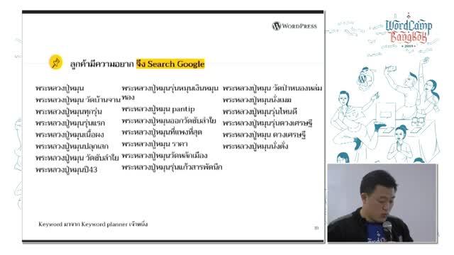 Nattawut Kreangkraileard: การตลาดออนไลน์และการทำเว็บไซต์สำหรับพ่อค้าแม่ขายมือใหม่