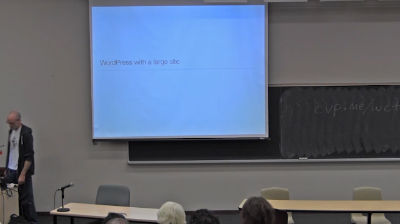 Brandon Hill: WordPress For a Large Site - Boundary Use Cases and Legacy Systems