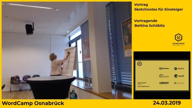 Bettina Schöbitz: Sketchnotes für Einsteiger