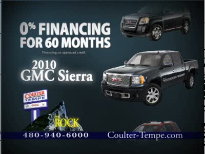 Phoenix gmc dealers coulter motor company for Coulter motor company tempe
