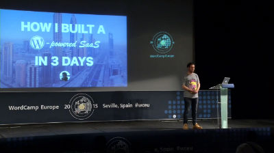 Bryce Adams: How I Built a WordPress Powered SaaS in 3 Days