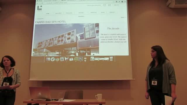 Marte Johansen and Ingvild Evje: Goal-oriented WordPress Design – 3 Case Studies