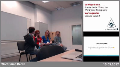 Jessica Lyschik: Frauen in der IT und der WordPress Community