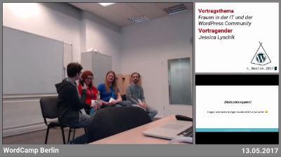 Jessica Lyschik: Frauen in der IT und der WordPress Community