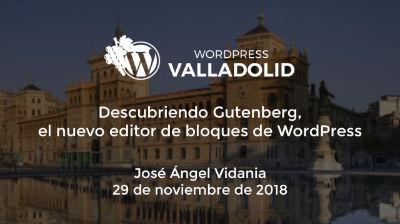 Descubriendo Gutenberg, el nuevo editor de bloques de WordPress