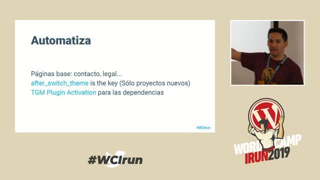 Darío Balbontín: Crear tu tema-framework para trabajar menos y mejor